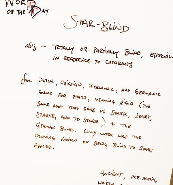 Star-blind