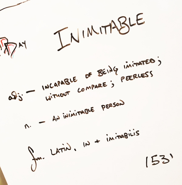 Inimitable