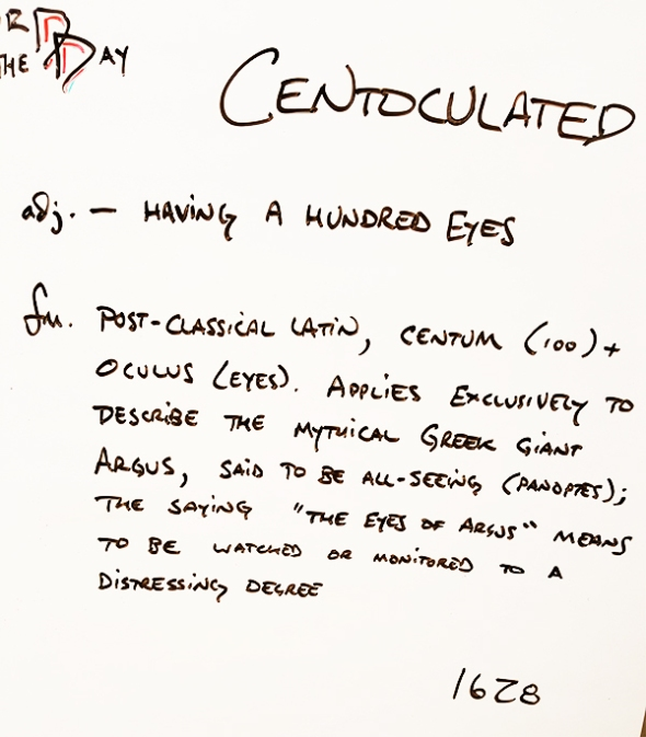 Centoculated