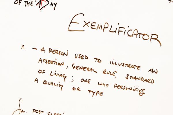 Exemplificator