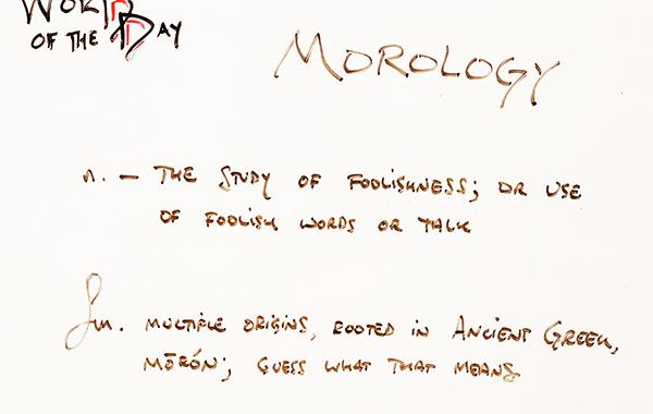 Morology